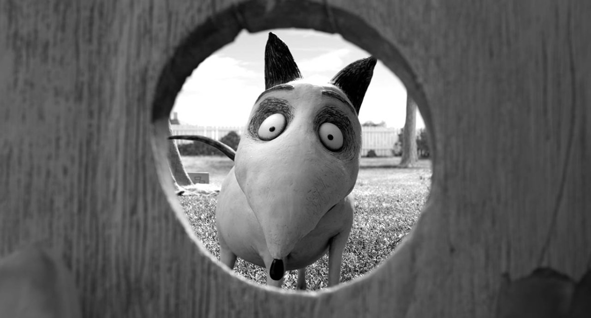 Frankenweenie, de Tim Burton