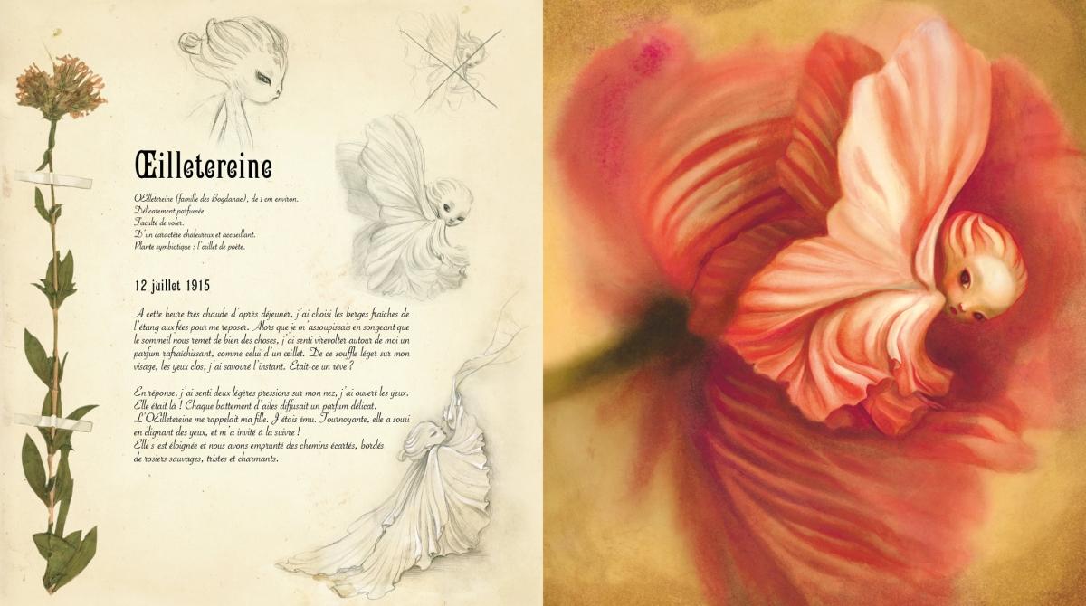 El herbario de las hadas, de Benjamin Lacombe y Sebastien Perez