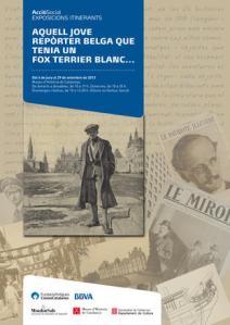 Aquell jove reporter belga que tenia un fox terrier blanc