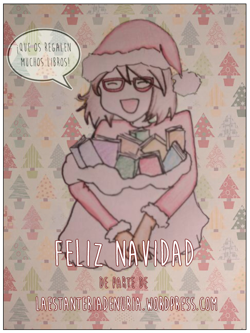 La estantería de Núria os desea una feliz Navidad