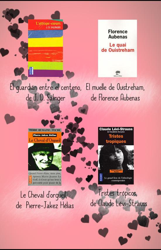 libros san valentin