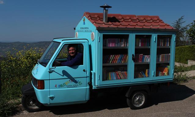 il Bibliomotocarro