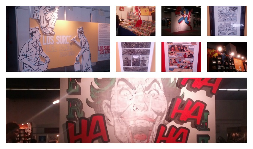 Salón del Cómic collage